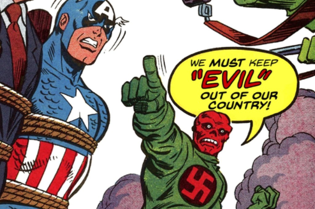 Superheroes - Magazine cover