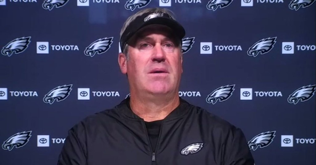 Doug Pederson confirms Nate Herbig will be the Eagles starting right guard in Week 2