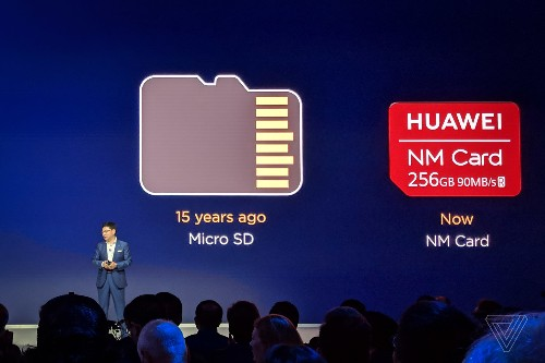 Huawei's Nano Memory Cards are replacing microSD on its latest phones