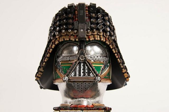Artist transforms old machine parts into stunning 'Star Wars' sculptures