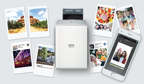 Fujifilm announces a newer, faster instant printer for your phone