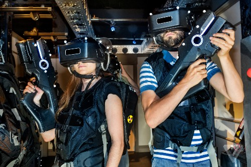 We tried out the Ghostbusters virtual reality experience and it blew our minds