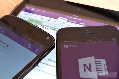 Microsoft simplifies OneNote site ahead of 'Office Online' rollout