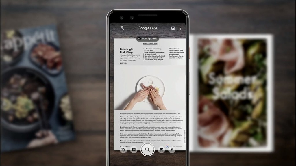 Google Lens will start recommending what you should eat at restaurants