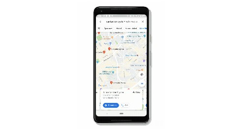 Google Maps can now show you where bike sharing stations are and how many bikes they have