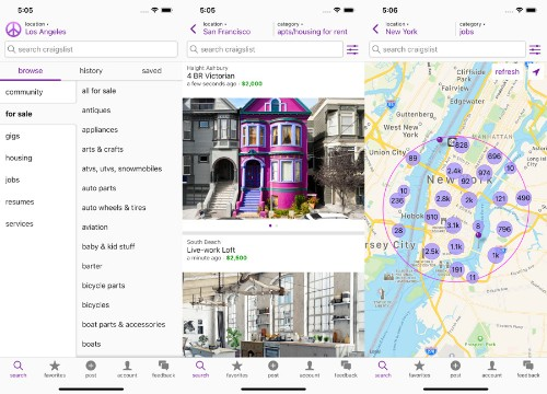 Craigslist, founded 24 years ago, is finally getting its first app