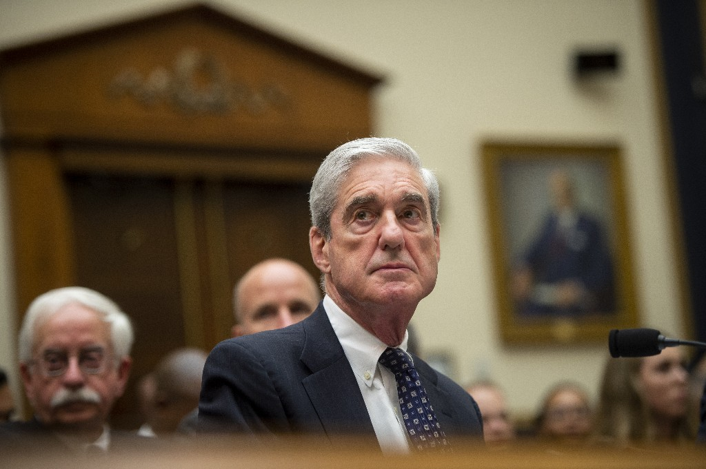 Robert Mueller's investigation into Trump-Russia ties - cover