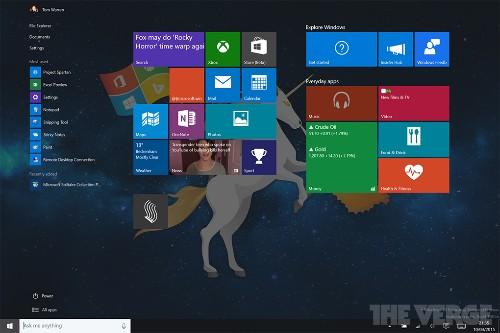 Microsoft is improving Windows 10's touch mode