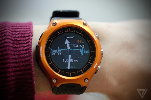 Casio's first smartwatch brings Android Wear outdoors