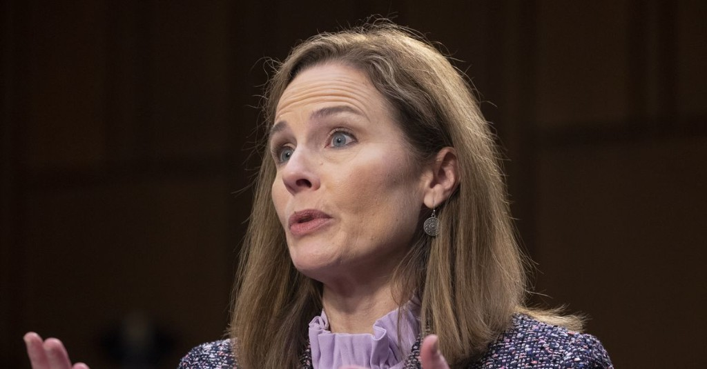 Climate change answer disqualifies Barrett for Supreme Court