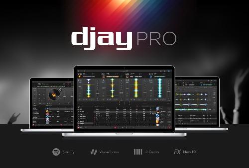 Djay Pro brings Spotify-powered mixes to the Mac
