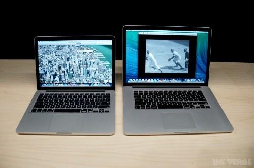 New MacBook Pro with Retina display hands-on
