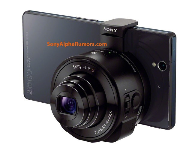 Manual reveals how Sony's rumored 'lens cameras' will actually work