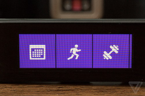 Wearing the Microsoft Band, the next big thing in fitness tracking
