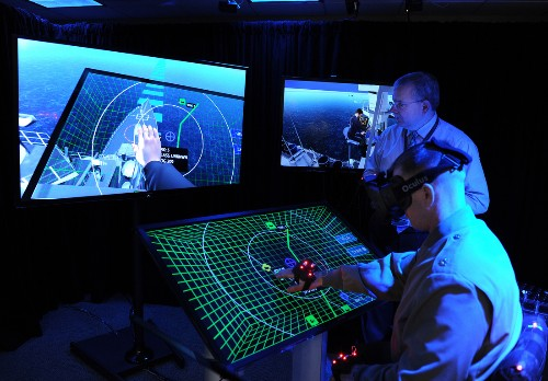 BlueShark: where the US Navy dreams up the battleship interfaces of tomorrow