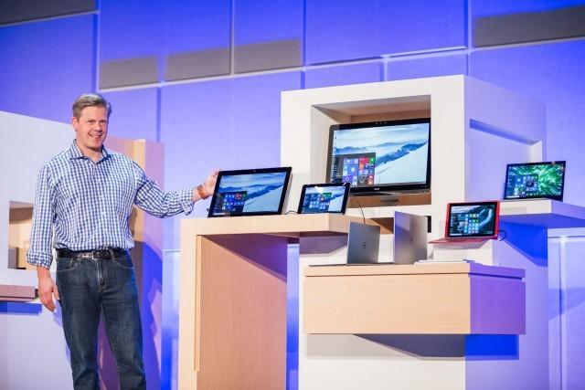 Microsoft gives a sneak peek at new Windows 10 hardware