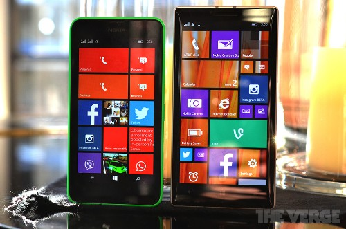 A closer look at Nokia's Windows Phone 8.1 handsets