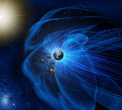 NASA spacecraft measure magnetic explosions that drive space weather