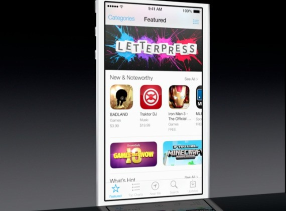 App Store will update apps automatically in iOS 7