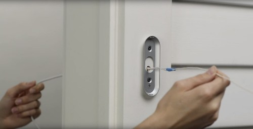 Nest doesn't make a battery-powered doorbell, so now Google sells a power cable that needs to be drilled through the wall