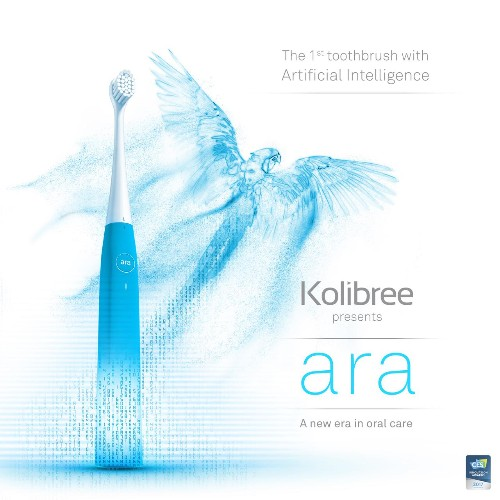 No, this toothbrush doesn't have artificial intelligence