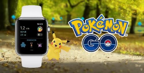 Pokémon Go is finally available on the Apple Watch