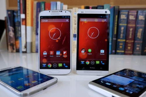 Pure Android: Samsung Galaxy S4 and HTC One 'Google Play editions' review