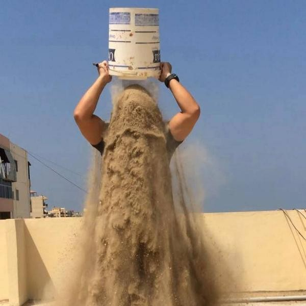 Rubble Bucket Challenge aims to raise awareness about Gaza