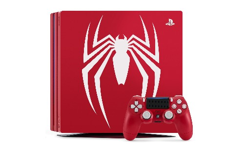 """Sony is making a limited edition """"Amazing Red"""" PS4 Pro for Spider-Man's launch"""