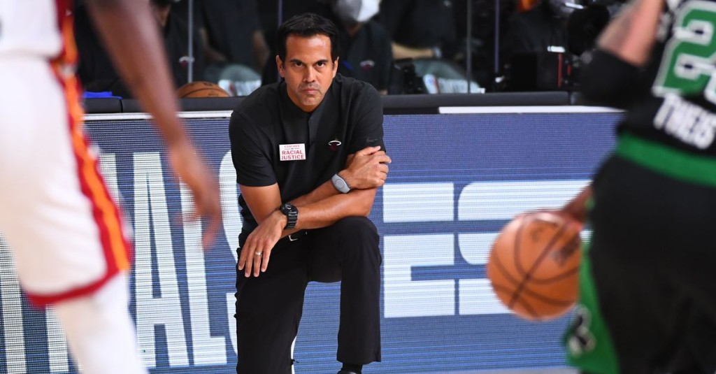 Erik Spoelstra is the Miami Heat's greatest advantage in the NBA Playoffs