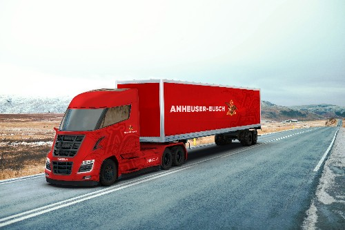 Anheuser-Busch orders hundreds of hydrogen trucks from zero-emission startup Nikola
