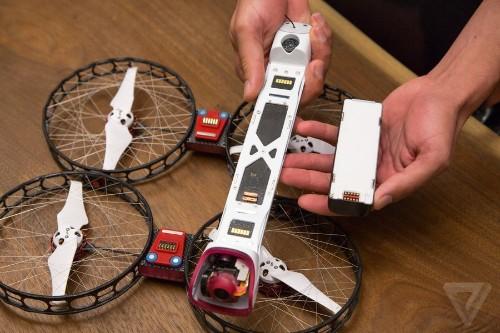 Someone finally made a drone that's safe for me to headbutt