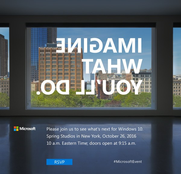 Microsoft to launch new Surface PC at October 26th event