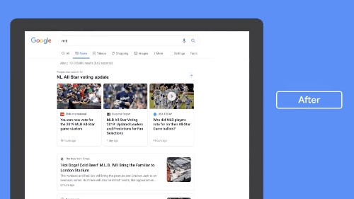 Google is redesigning its News tab with more emphasis on headlines and publisher names