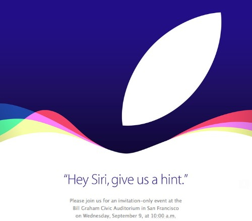Apple iPhone event announced for Wednesday, September 9