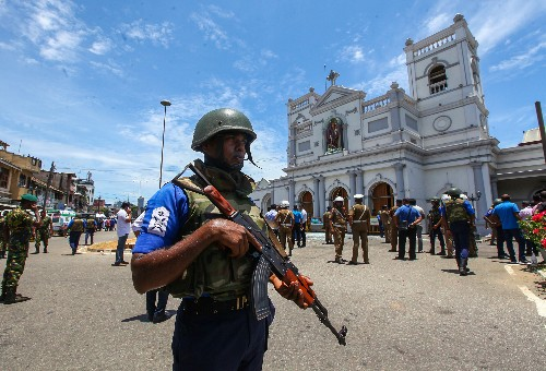 Sri Lanka restricts access to social media sites following terror attack