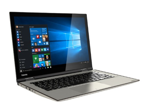 Toshiba's Satellite Radius 12 combines a 4K display with a Windows Hello camera