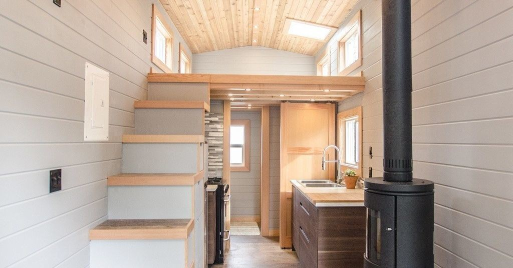 Tiny house goes off-grid with big amenities