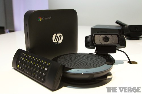 Google wants to replace your office's teleconference system with a $999 Chromebox