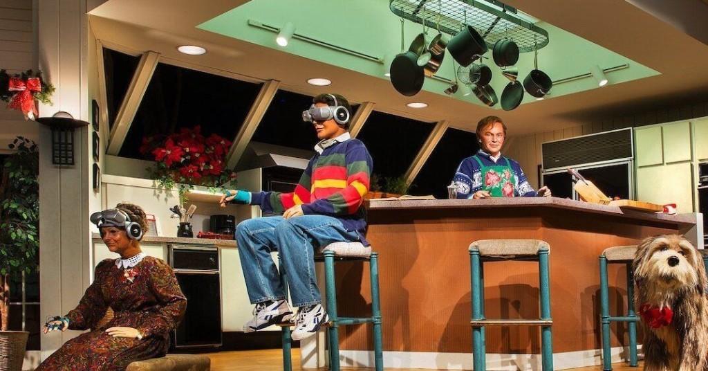 The retrofuturistic Carousel of Progress serves an ironic role at Disney World