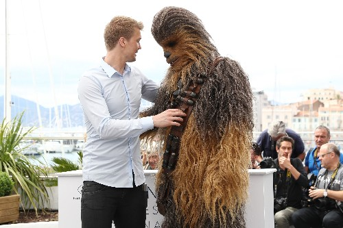 The new Chewbacca actor on the Wookiee mask, movement, and mentality