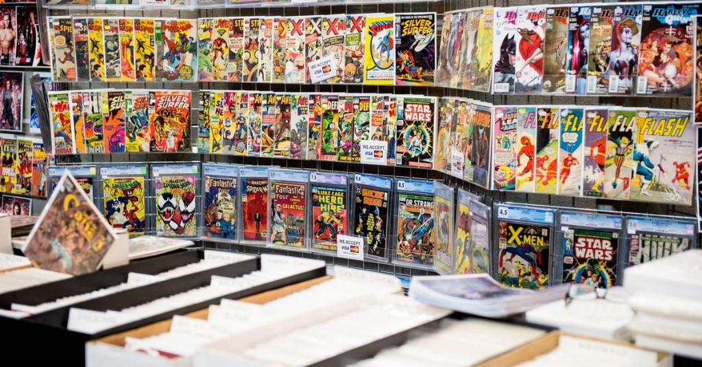 Major change for comics shops could mean major change for the industry