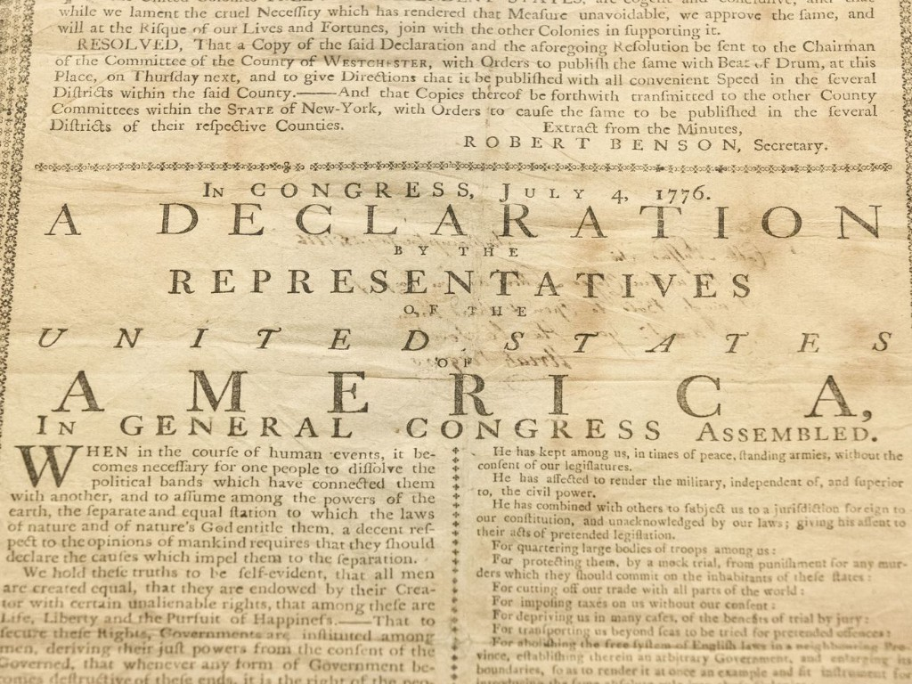 In our opinion: The Declaration's divine discontent gives us hope for America