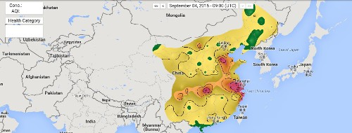 See China's air pollution in real time