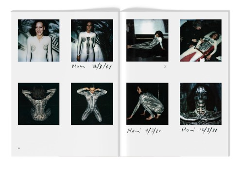 H.R. Giger's sexy polaroids are just as twisted as you'd hope