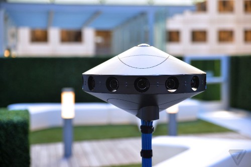 Facebook is giving away the blueprints to its 360-degree video camera