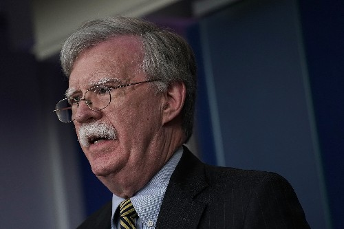 "John Bolton just gave an ""Axis of Evil"" speech about Latin America"