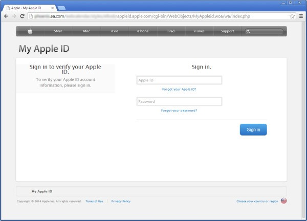 EA investigating hack using its website to steal Apple IDs