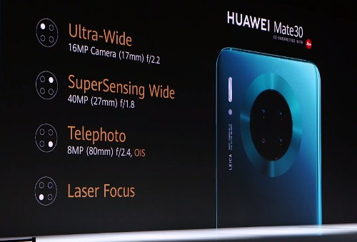 Huawei's Mate 30 contains no American parts