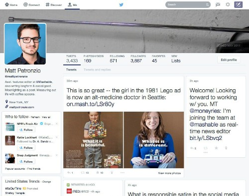 Twitter tests massive profile redesign that focuses on photos